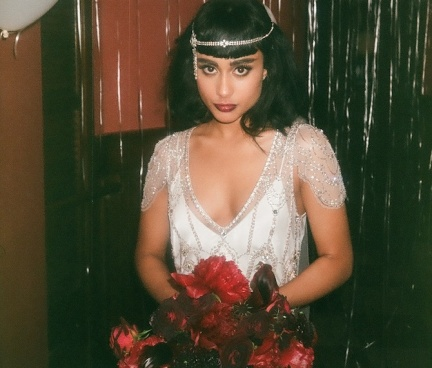 natalia kills wedding dress